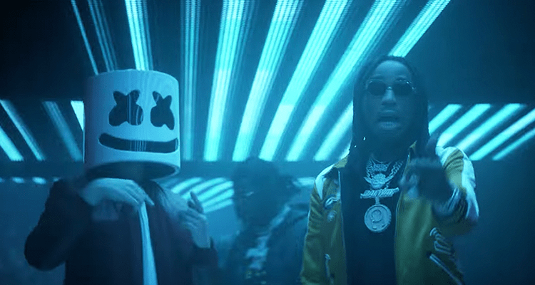 Strip Trap Marshmello & Migos Hit The Club With In New 'danger' Video