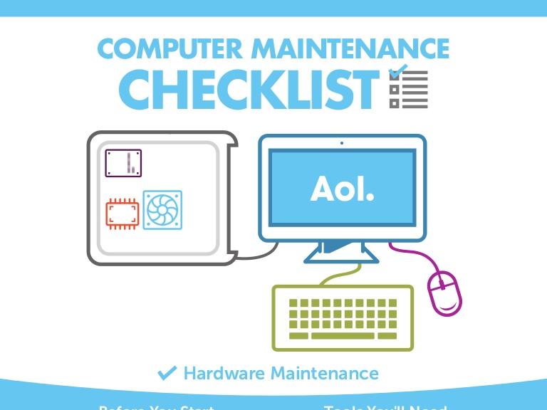 Computer Maintenance Checklist - Miramichi, Bathurst, Rogersville