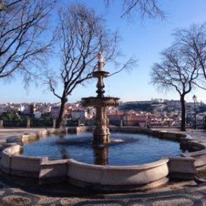Miradouro mit Springbrunnen