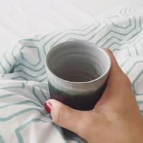 Kaffee im Bett