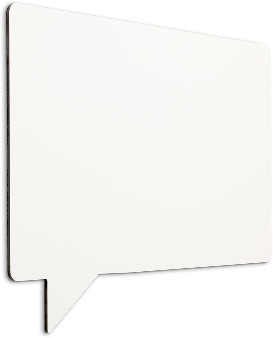 Whiteboard Magnetisch Magnetisch Whiteboard Smit Visual Speech 58x88cm Emaille