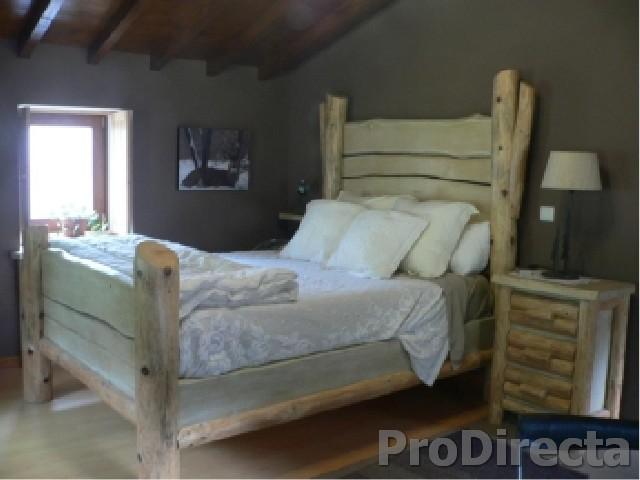 Master Bedroom – Furniture Custom Designed. Built of Chestnut and Northern Pine,