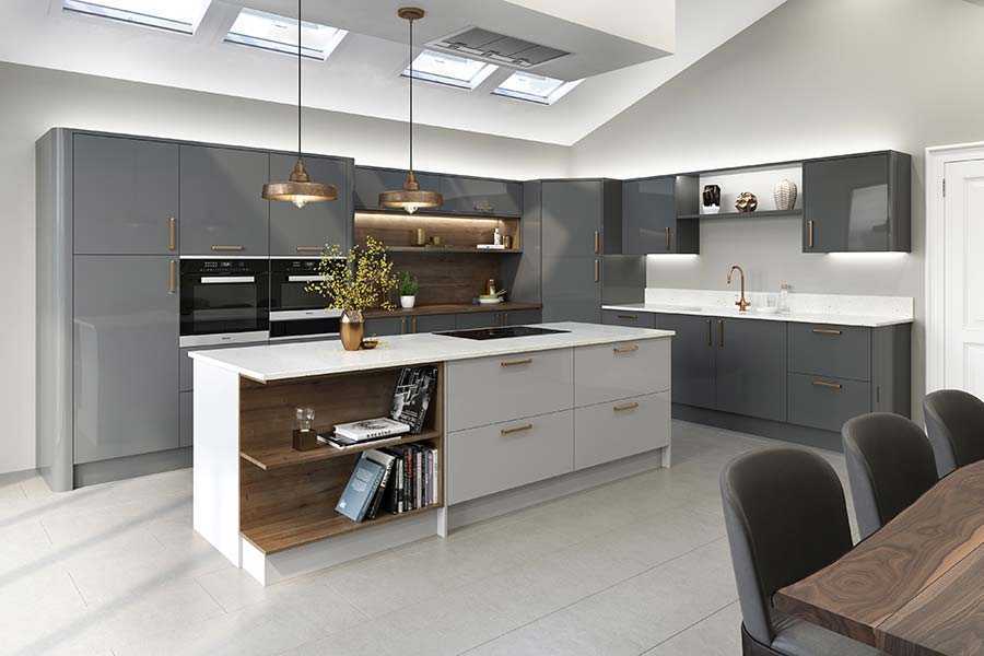 Folding Kitchen Island Uk Ten Tips For Creating An Open-plan Kitchen-diner