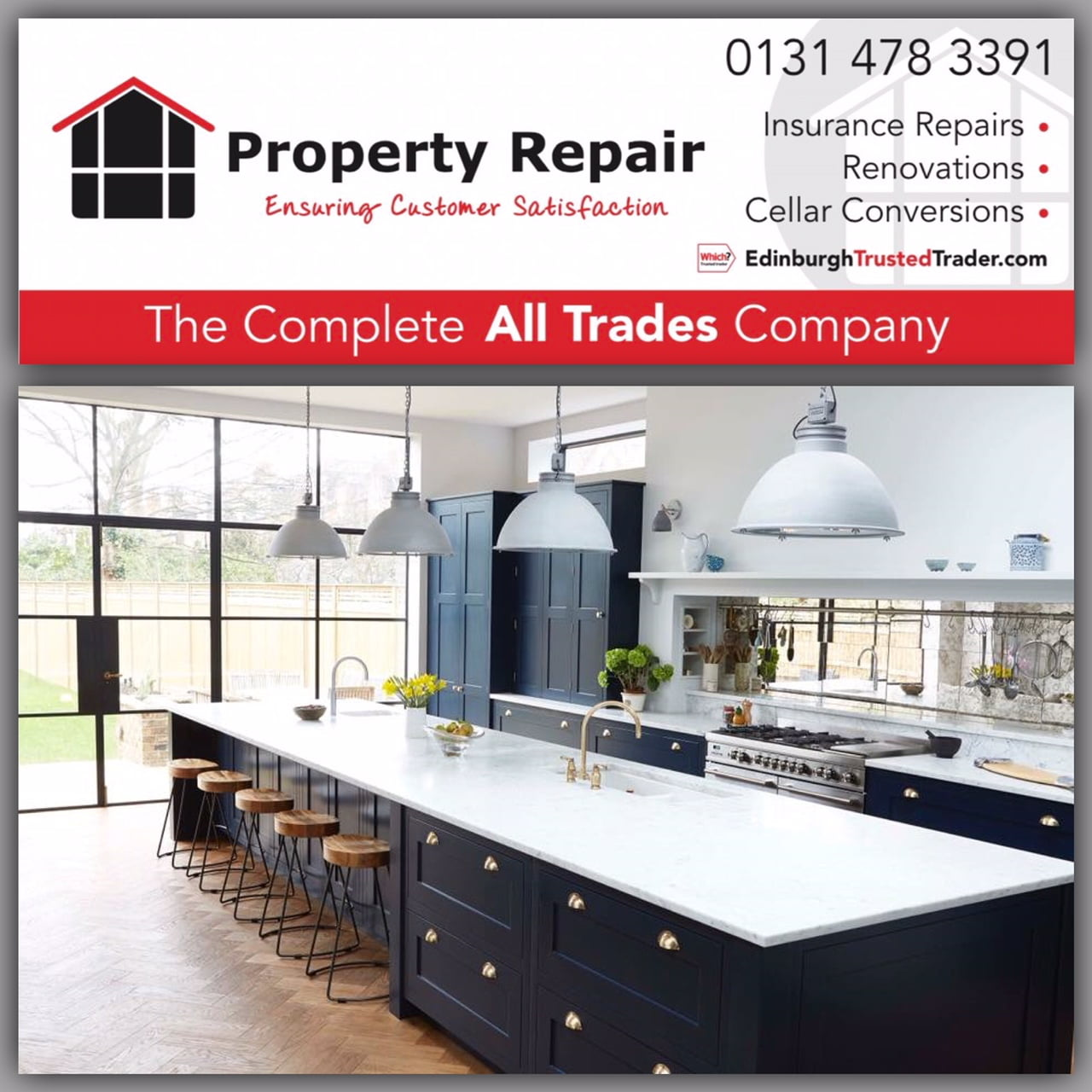 Free Kitchen Design Edinburgh Property Repair Kitchen Renovations In Edinburgh