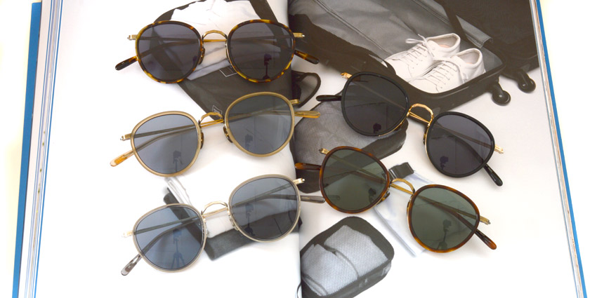 "OLIVER PEOPLES ""MP-2 Sun"" 最多カラー!"