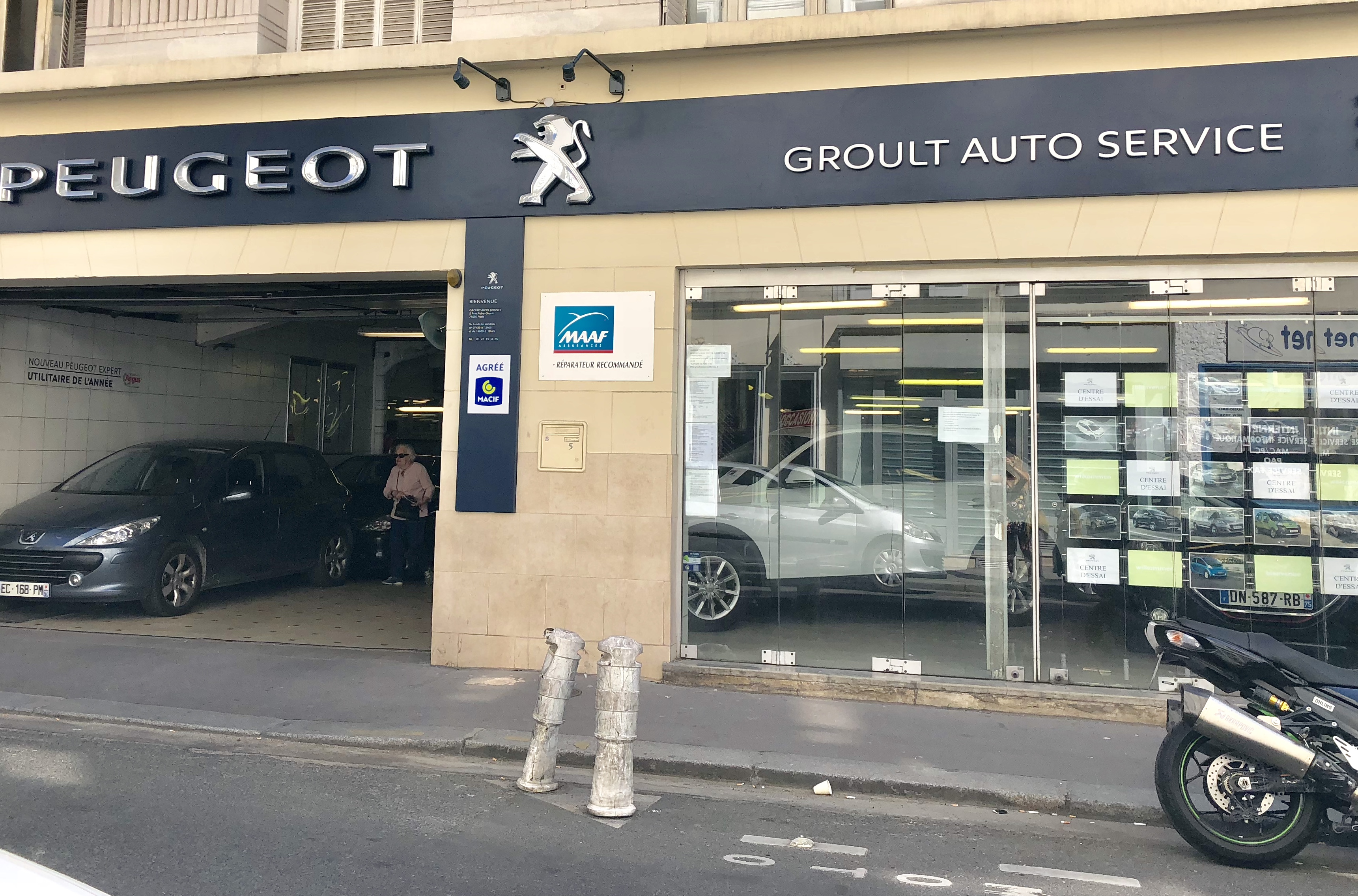Garage Peugeot Paris Garage Groult Autos Voiture Occasion Paris 15eme Vente Auto