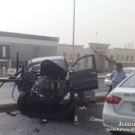 A Road Accident Saudi Arabia