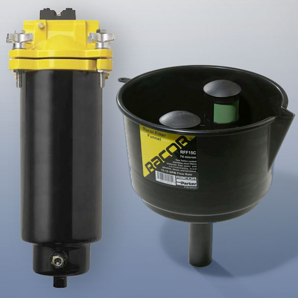 parker fuel filter systems