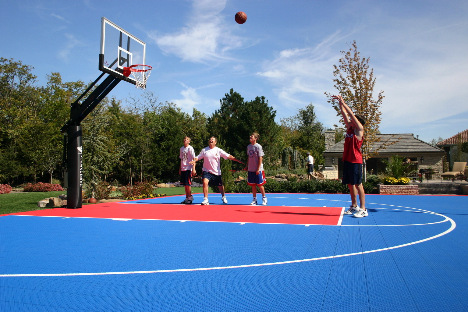 Basketball System Perth Basketball Goals Hoops 400 Off When You Buy A Court Nj Pa