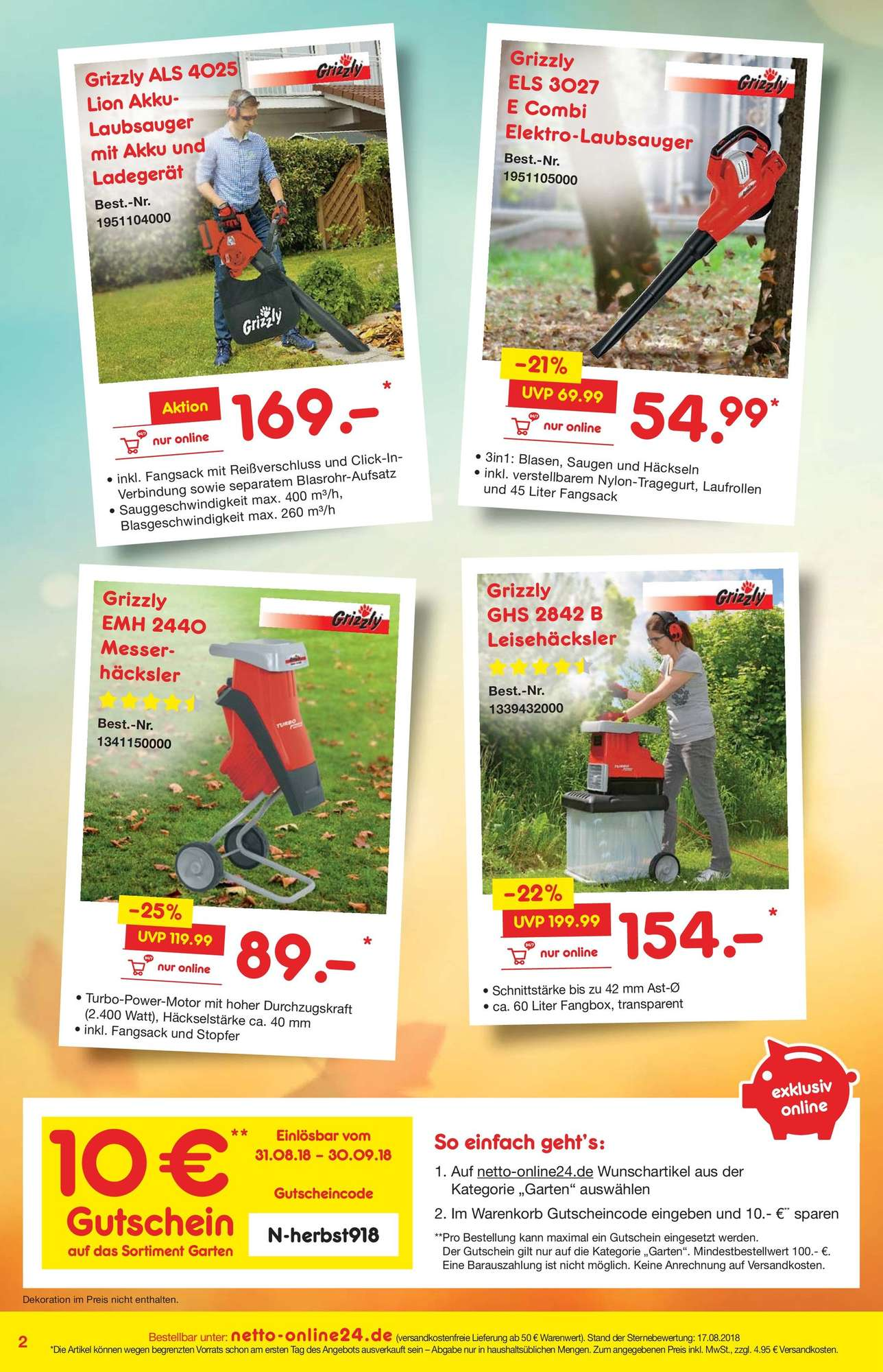 Netto Online Bewertung Netto Marken Discount Netto Online Bestellmagazin September