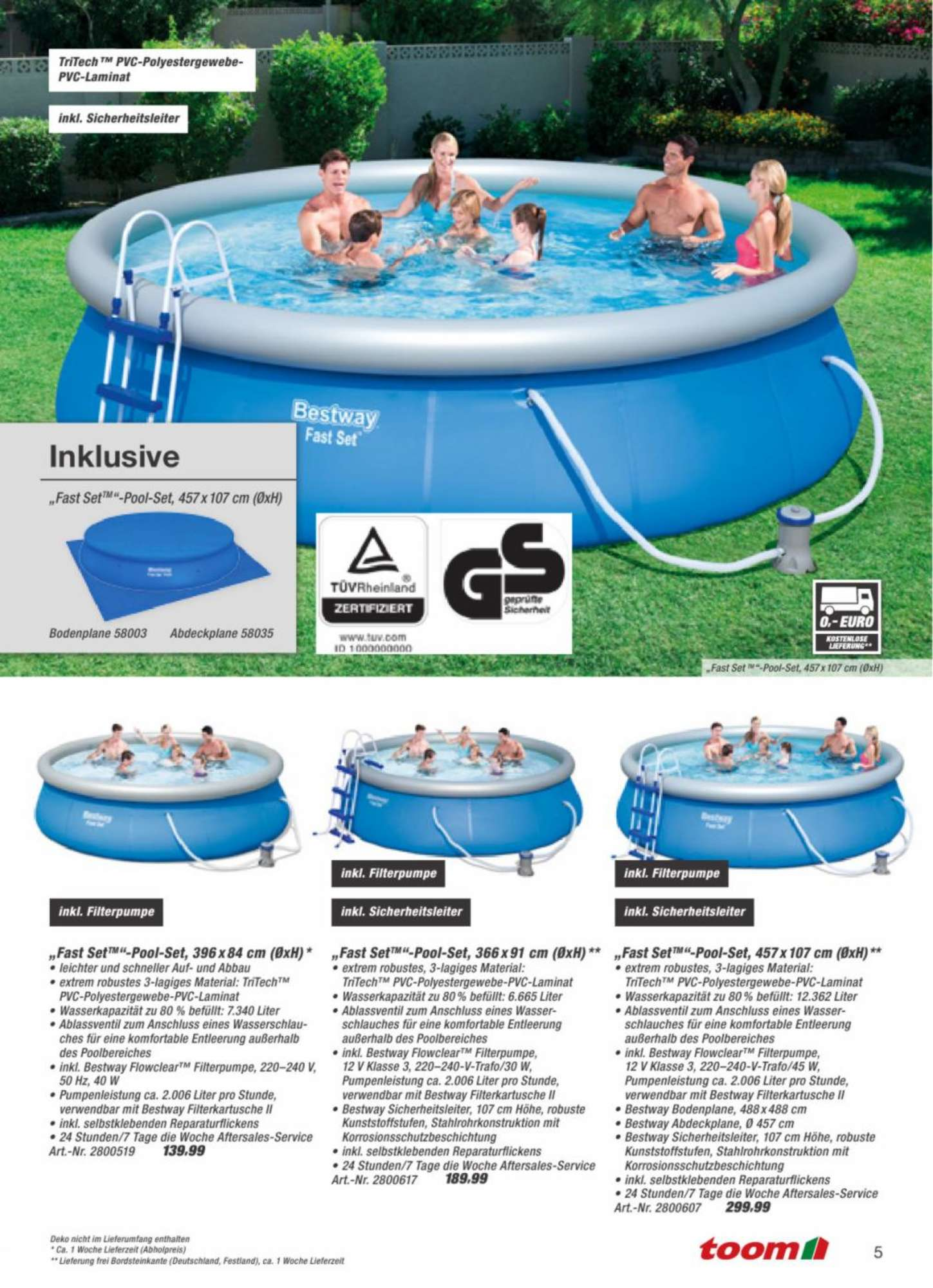 Pool Kaufen Toom Baumarkt Baumarkt Pool Best Weka Pool Komplettset With Baumarkt