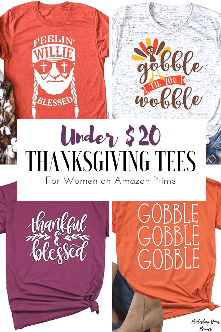 Amazon Turkey Cute Thanksgiving Shirts On Amazon Protecting Your Pennies