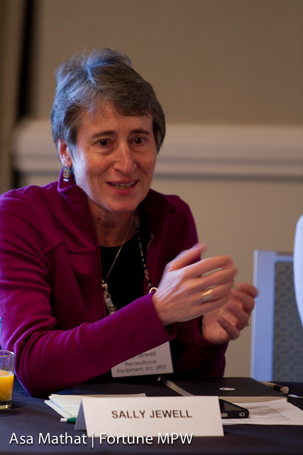 Sally Jewell, Fortune Live Media / Foter.com / CC BY-ND