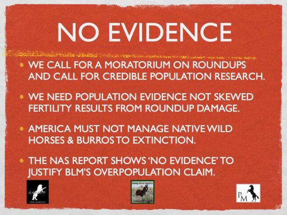PM No Evidence Overpopulation