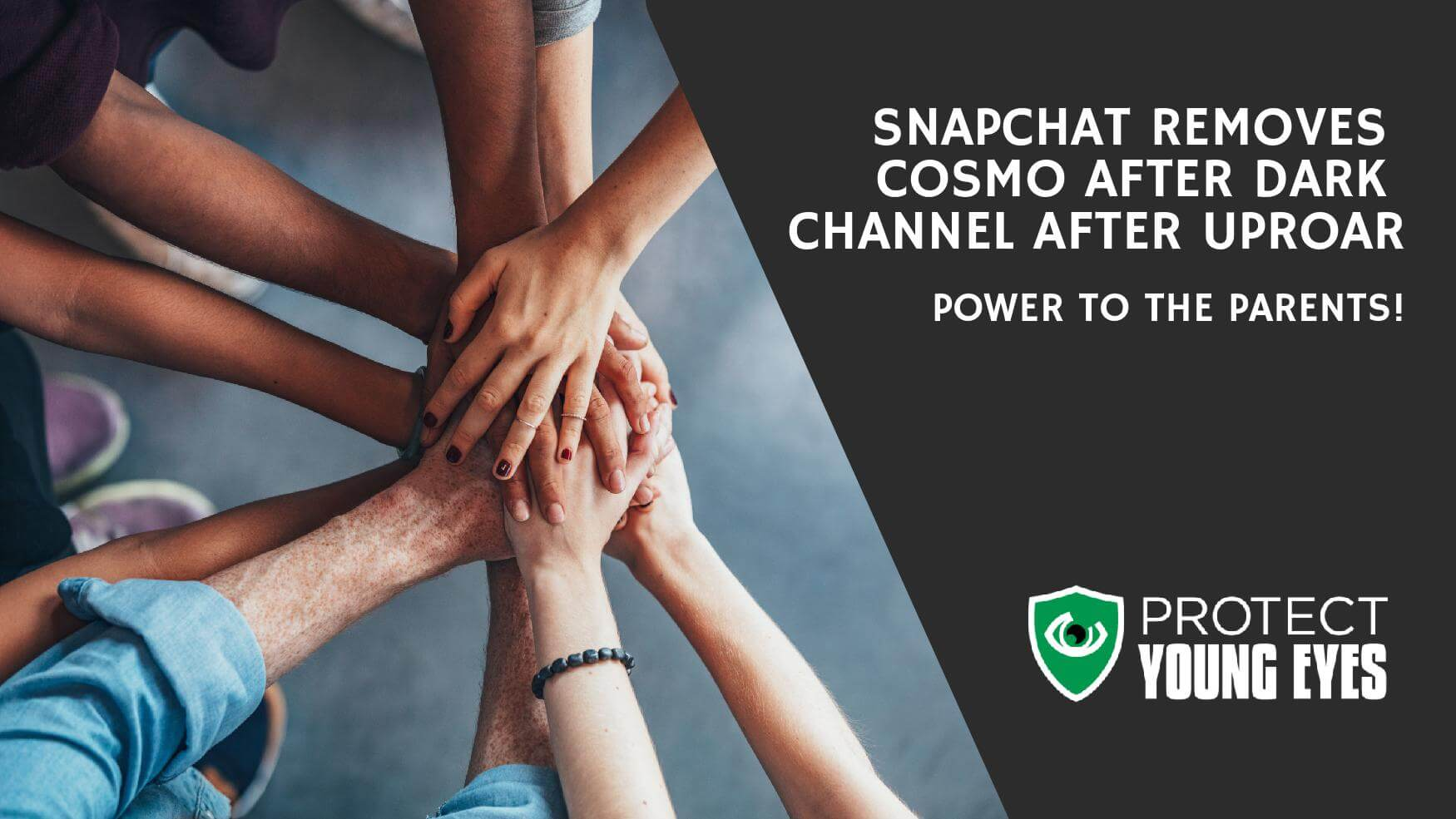 After Drk Snapchat Discontinues Cosmo After Dark Protect Young Eyes Blog