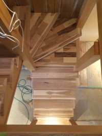 Stair Trim-Out (5)Installing Treads and Risers # ...