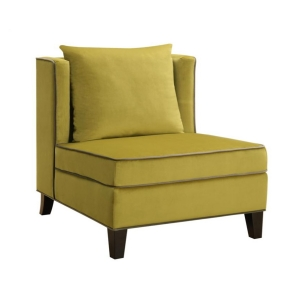 Recliner Stoel Stoel Accent Chair 902709 Yellow