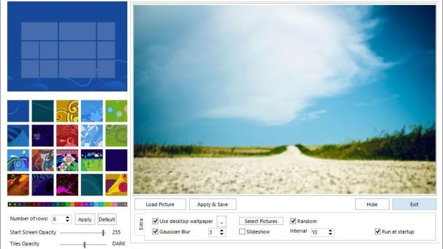 Personnaliser l'écran d'accueil sous Windows 8 avec Windows 8 Start Screen Customizer