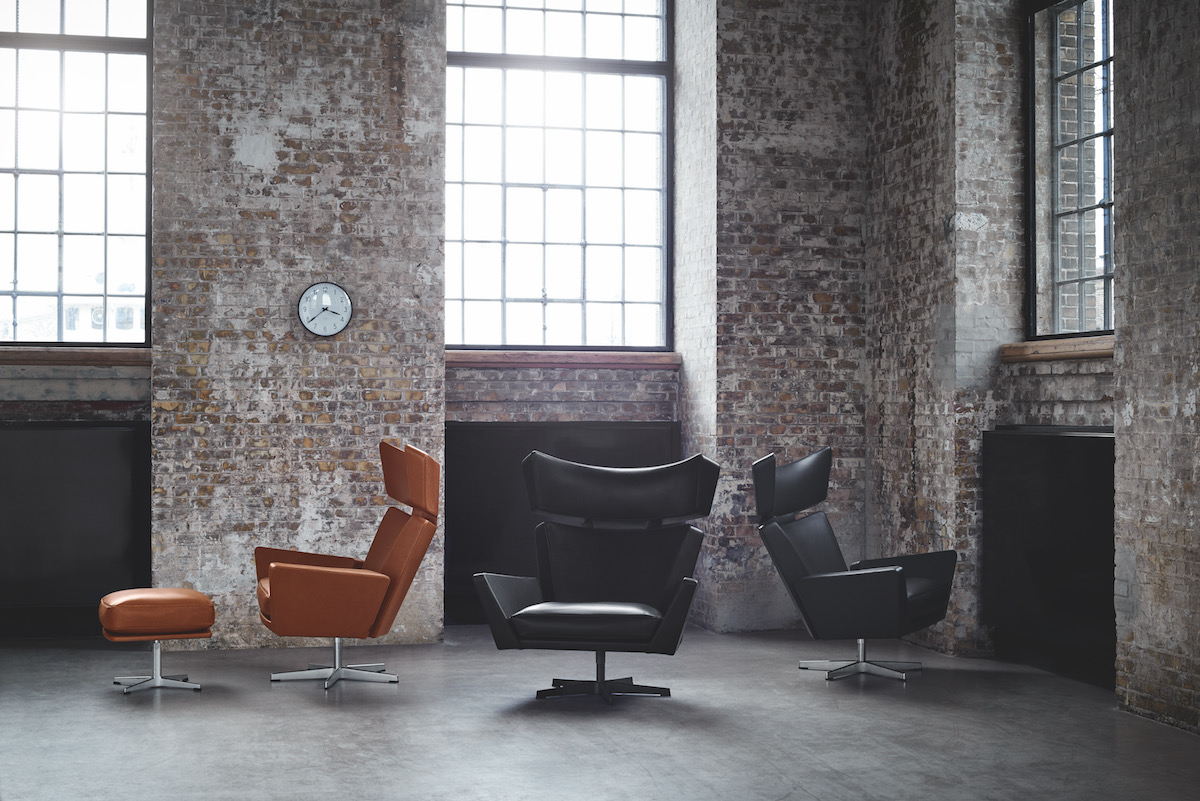 Ledersessel Lounge Republic Of Fritz Hansen Is Pleased To Announce The Relaunch Of The Oksen Lounge Chair - Proudmag.com