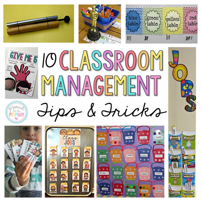 Elementary Classroom Management Techniques ~ Positive classroom management tips and tricks