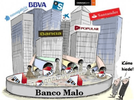 el banco malo huele mal