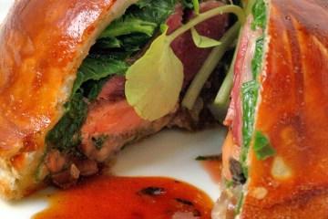 Pigeon recipe from Le Vivier Restaurant L'Isle Sur La Sorgue