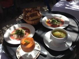 Mixed starters reine sammut bistrot lourmarin provence