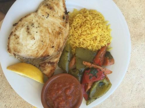 Swordfish Mange Tout Restaurant Calanque Mejan
