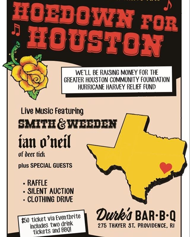 Hoedown for Houston Providence Monthly providenceonline - bbq benefit flyers