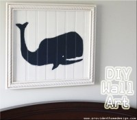 Pottery Barn Kids Knockoff Wall Art - Provident Home Design