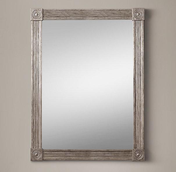 Restoration hardware knockoff mirror