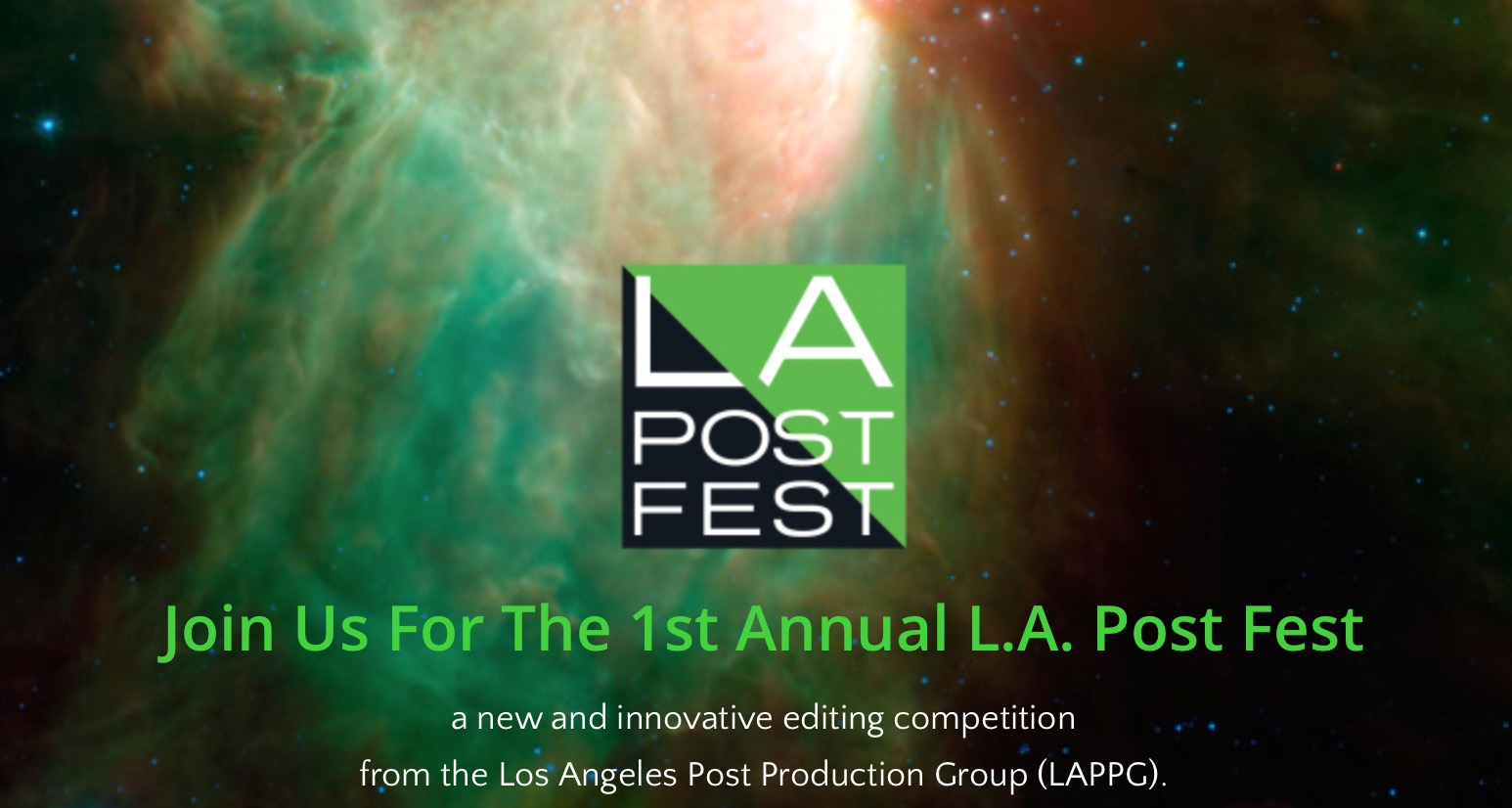 Post Production Los Angeles The First Annual La Post Fest Is May 14 2016 By Pvc News Staff