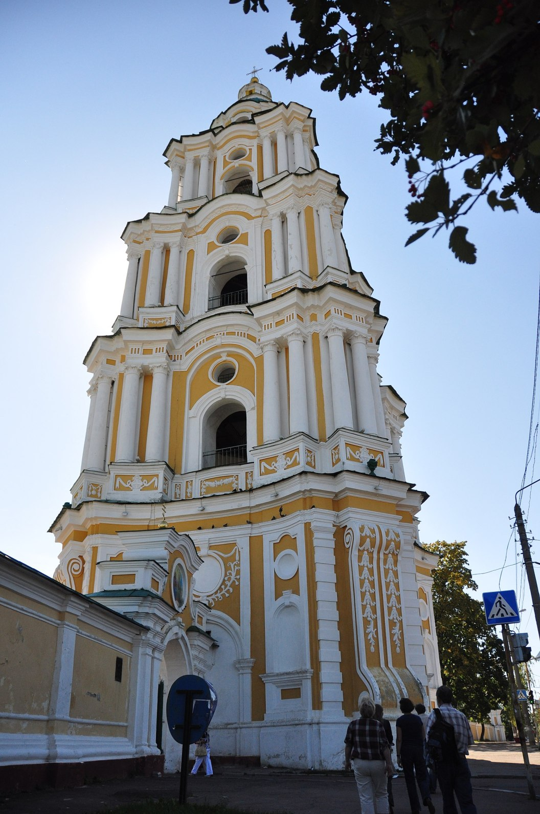 Ucrania Mapa - Chernihiv Monasterio