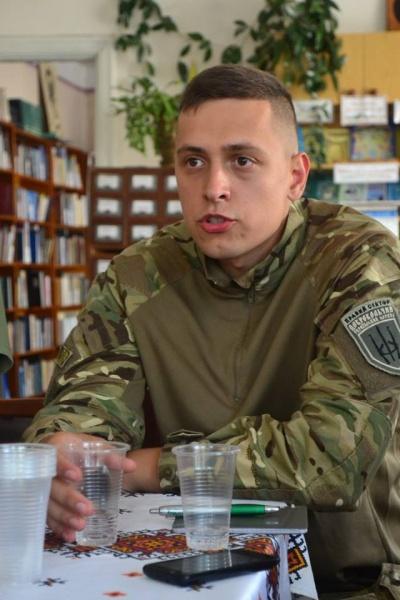 Серій Коновалов, в.о. Командира 6-ої резервної сотні