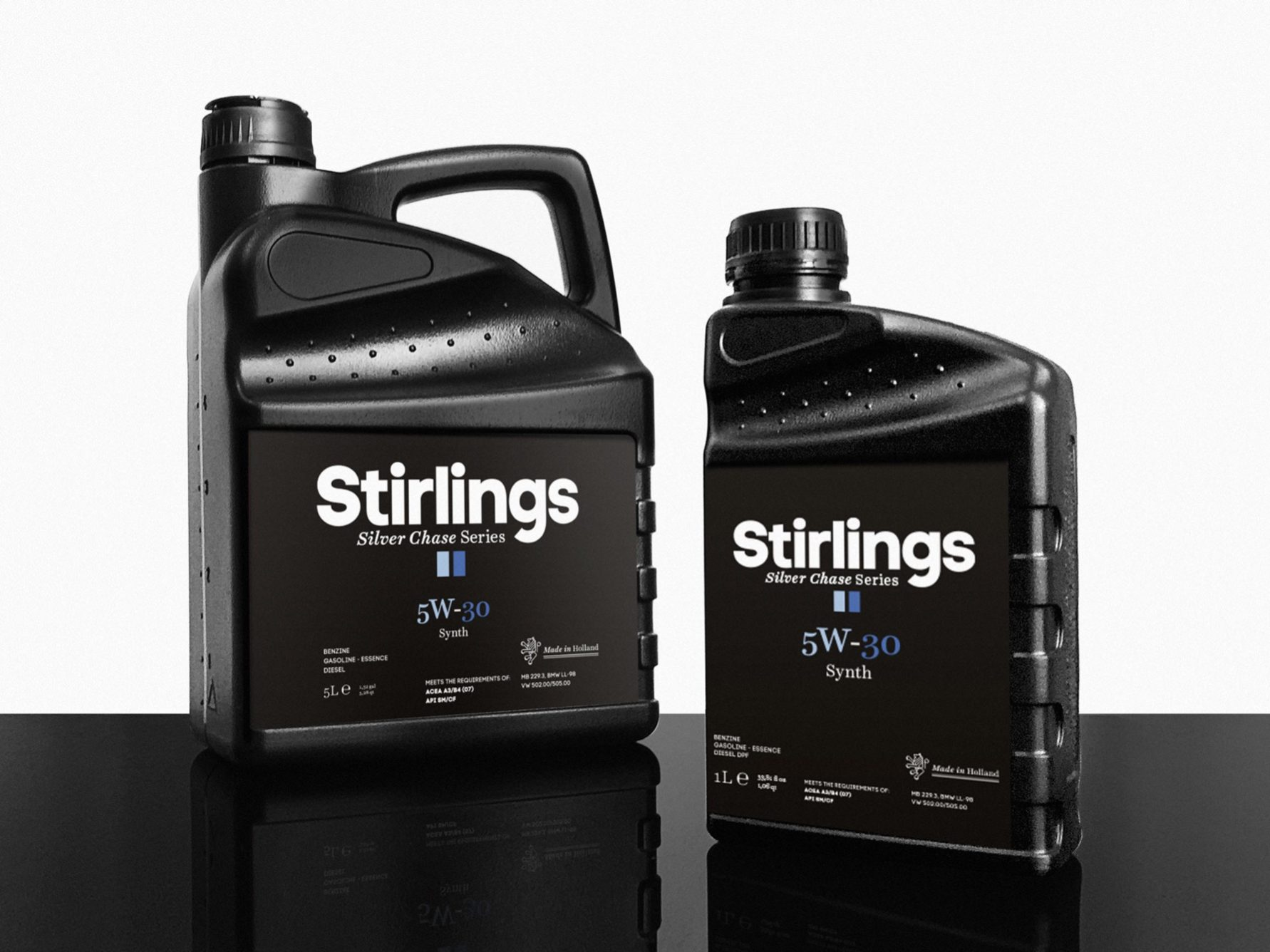 5w30 Synthetische Olie 5 Liter 5w30 Stirlings Oil Vol Synthetisch Prowheels