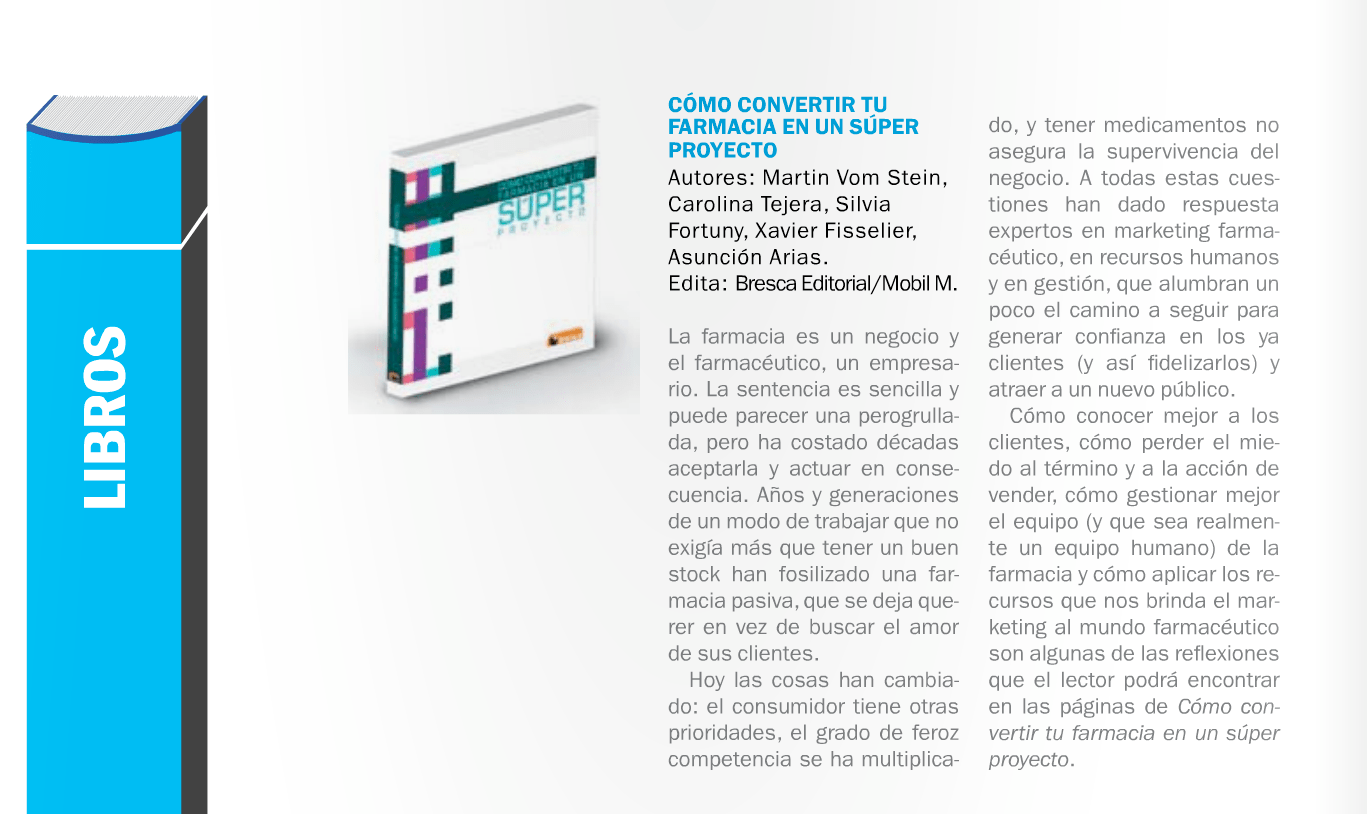 Libros De Farmacia Libro Proyecto Farmacia Proyecto Farmacia Marketing Y