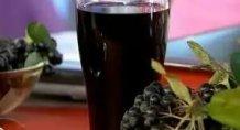 Сок черноплодной рябины (аронии)