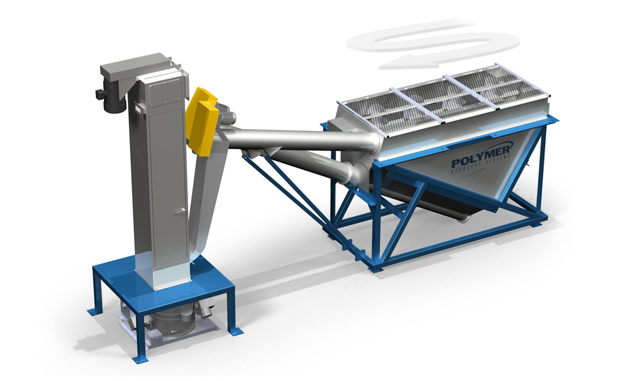 Float Sink Tank Polymer Recovery Systems