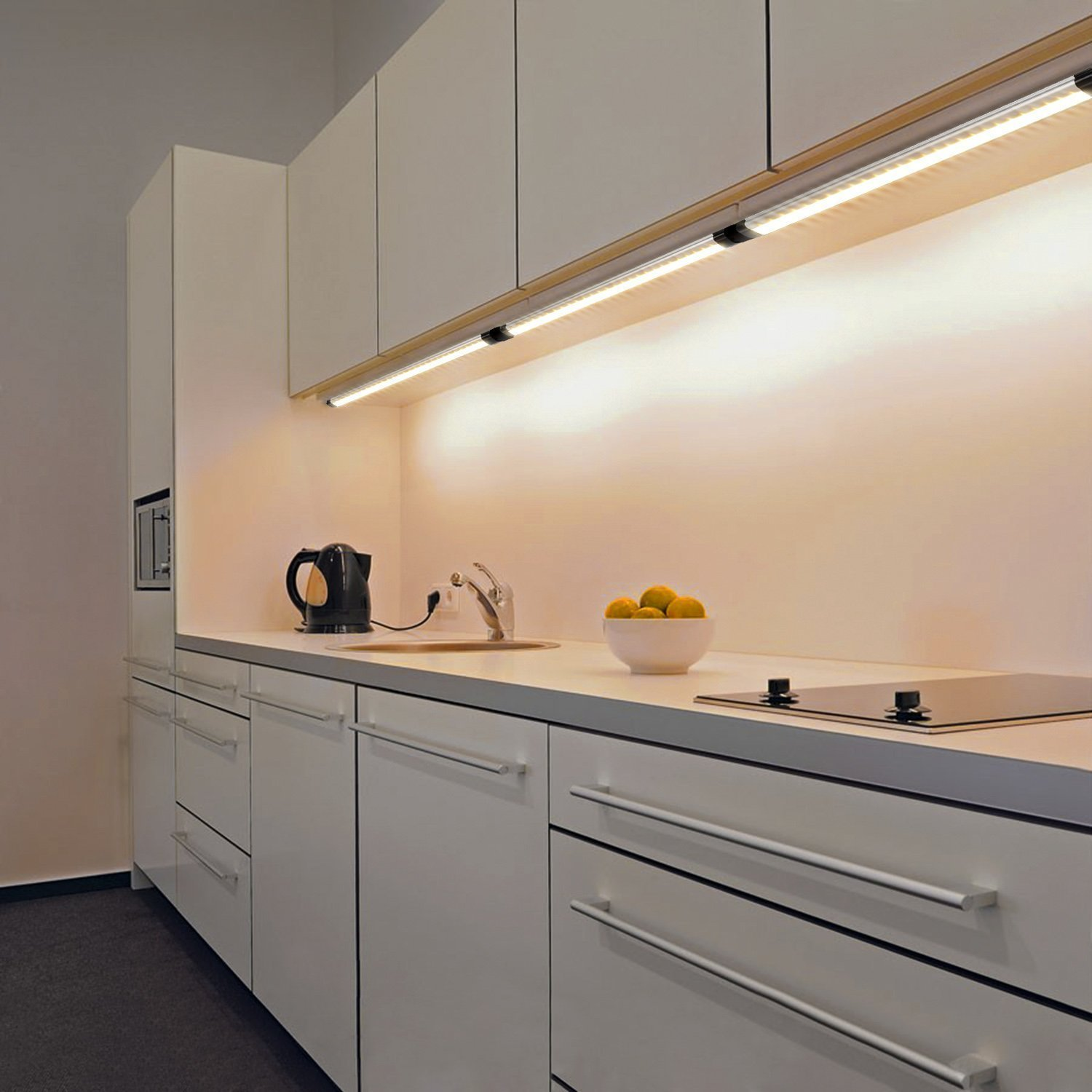 Lights For Kitchen Cabinets Dimmable Under Cabinet Lightning