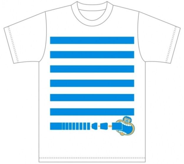 Wチャンスチャレンジで当たる「横浜ベイクォーター×ガリガリ君オリジナルTシャツ」