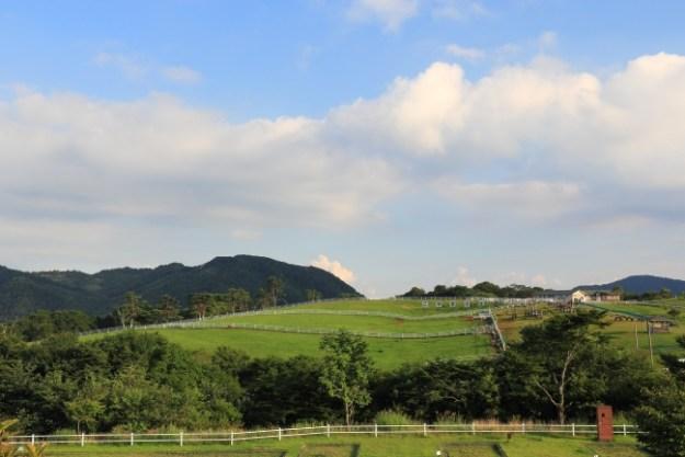 心地よい初夏の風を感じることのできる大笹牧場