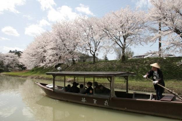 城下町大聖寺川流し舟(画像データ提供元『KAGA旅・まちネット』)