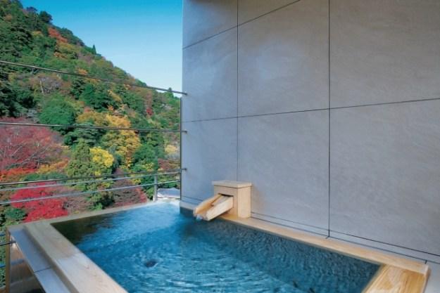 天空の露天風呂