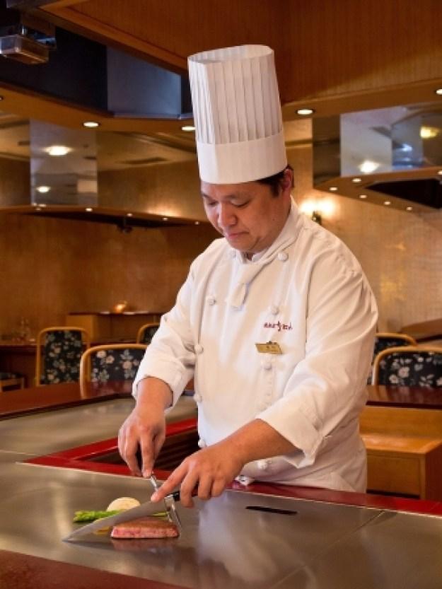 「日本料理なにわ 鉄板焼」