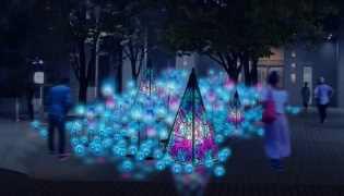 青の銀河(イメージ)
