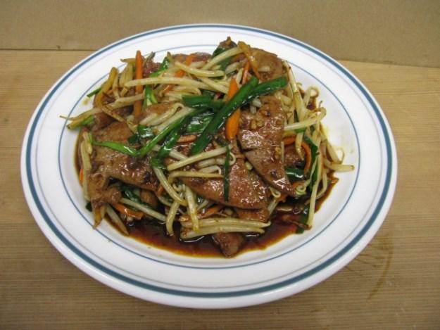 レバニラ辛味炒め(紅虎菜舗)