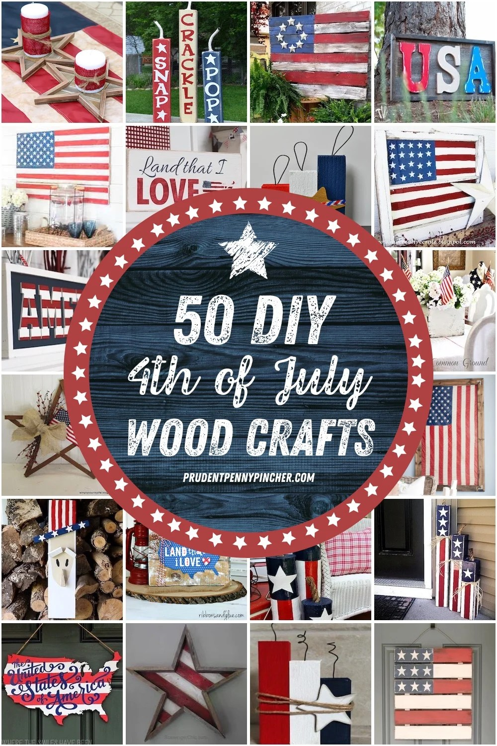 50 Diy 4th Of July Wood Crafts Prudent Penny Pincher