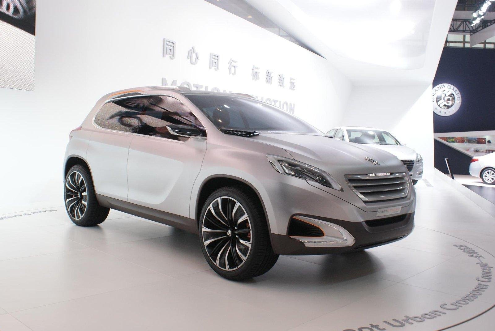 Garage Peugeot Paris Peugeot Urban Crossover Concept As 2008 Ps Garage Automotive
