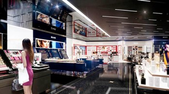 LUXE Duty Free interior 2
