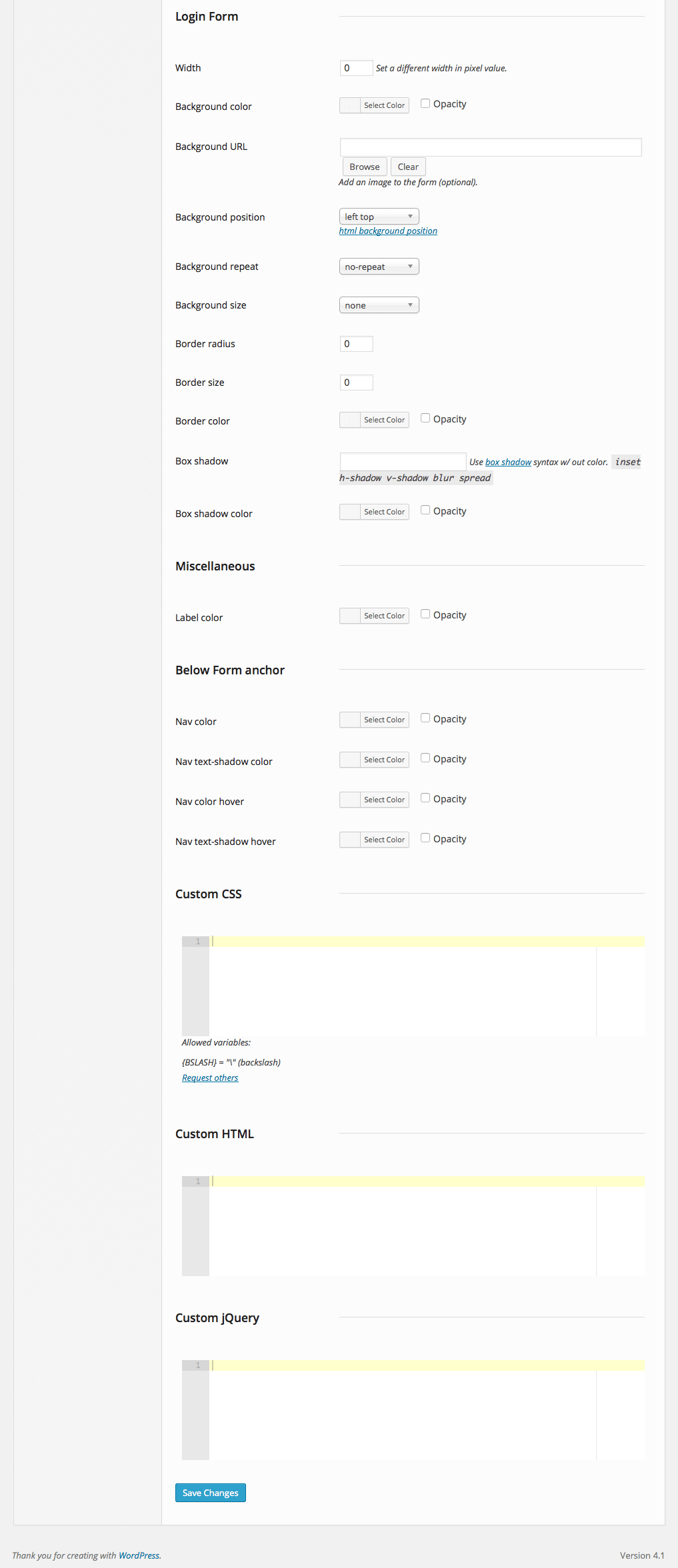 custom-login screenshot 2
